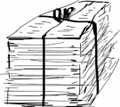 Bleskový sběr papíru